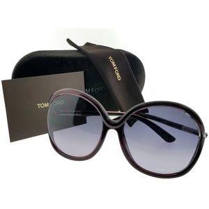 Tom Ford FT0252-RHI-05B-59 Women's Sunglasses